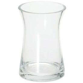 ガラス花器 ユニオンS 2個セット 全高17cm×直径12cm 透明 クリア 硝子 フラワーベース 花器 花入れ 花瓶 フラワーアレンジメント ディスプレイ 装飾
