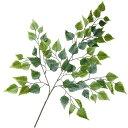 人工観葉植物・シラカバ・リーフB・全長72cm・24本セット(白樺/シラカンバ/バーチ)(造花/人工樹木/葉材/花材/グリ…