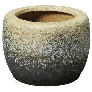 【日本製】 白砂火鉢 10号 全高22cm×幅30cm 信楽焼 しがらきやき 陶器製 焼き物 国産品 炭 灰 砂 土 インテリア