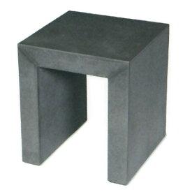屋外対応 ASH アッシュ モノクローム スツール 40型 全高45cm×口40cm 繊維強化セメントボード チェア 椅子 いす ガーデンファーニチャー