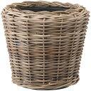 鉢カバー モンデリック ラタン45 2個セット 10号用 全高43cm×直径45cm 底穴なし ラタン製 天然素材 バスケット ポッ…