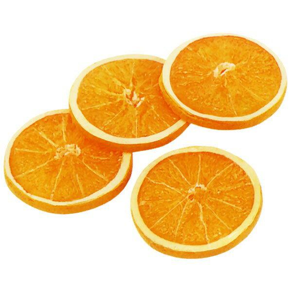 【食品サンプル】オレンジ・スライス・直径7.5cm・8枚セット(1袋4枚×2袋)(アマダイダイ/アランチャ/果物/フルーツ)(フェイクフード/食品模型/オブジェ)