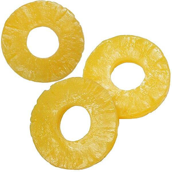 【食品サンプル】パイナップル・スライス・直径7cm・6個セット(1袋3個×2袋)(アナナス/パインアップル/鳳梨/果物/フルーツ)(フェイクフード/食品模型)