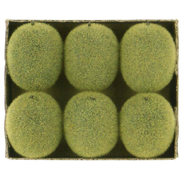 【食品サンプル】キーウィフルーツ・全長6cm・12個セット(1箱6個×2箱)(キウイフルーツ/支那猿梨/果物/フルーツ)(フェイクフード/食品模型/オブジェ/装飾)