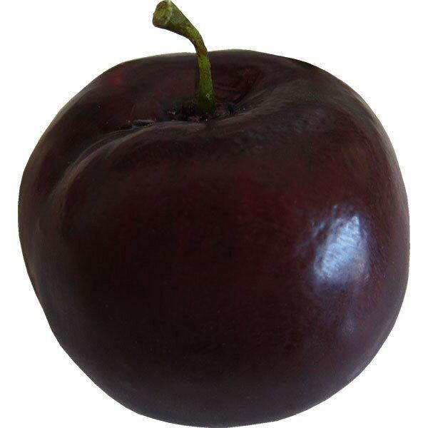 【食品サンプル】プラム・サンタローザ・直径7cm・2個セット(すもも/李/果物/フルーツ)(フェイクフード/食品模型/オブジェ)(ディスプレイ/アレンジ/装飾)