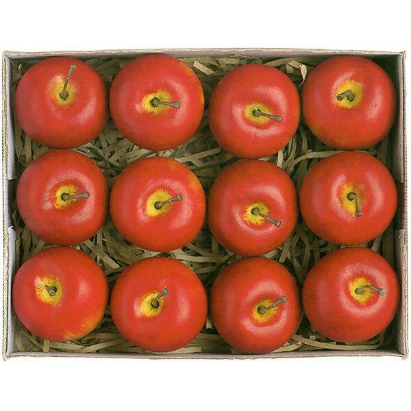 【食品サンプル】アメリカン・アップル・ピック・全長17cm・12個セット(1箱12個)(リンゴ/林檎/りんご/果物/フルーツ)(フェイクフード/アレンジ/花材)