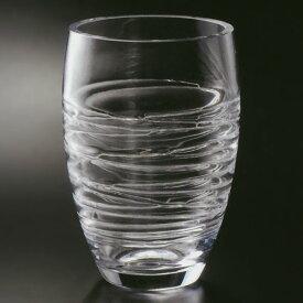 ガラス花器 全高28cm×直径20cm 硝子 ガラス 透明 花器 花瓶 花入れ フラワーベース インテリアガラス フラワーアレンジメント ディスプレイ 装飾