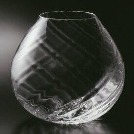 ガラス花器 全高25cm×直径26cm 硝子 ガラス 透明 花器 花瓶 花入れ フラワーベース インテリアガラス フラワーアレンジメント ディスプレイ 装飾