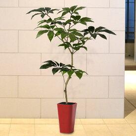 【人工植物】 全高1.5m ツピダンサス ツピタンサス インドヤツデ ワイヤー入り合成樹脂製人工幹 人工観葉植物 人工樹木 造花 インテリアグリーン フェイクグリーン FSTフリースタイルトランク