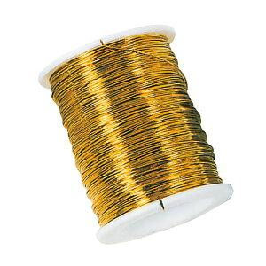 糸針金♯30 ゴールド 1巻40m 12巻セット ワイヤー 資材 花材 道具 手芸用品 フラワーアレンジメント リボンワーク ワイヤリング 茎の補強