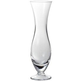 ガラス花器 2個セット 全高18cm×直径5cm 透明 クリア 硝子 フラワーベース 花器 花入れ 花瓶 インテリア