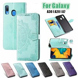 在庫発送 Galaxy A7 ケース 手帳型 Galaxy A52 A32 A51 5G A20 カバー 手帳型 Samsung Galaxy A30 ケース 手帳ケース galaxy a30 scv43 ケース A30ケース a30カバー 耐衝撃 マグネット レザーケース 花柄 スタンド機能 ギャラクシー A30 カードホルダー カード収納
