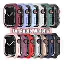 一部在庫発送 Apple Watch Series 7 カバー series7 ケース 41mm 45mm 保護ケース apple watch S7 カバー PC メッキ加…