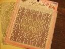 【シリコン型・モールド】アルファベット&数字[レジン 型/uvレジンクラフト/uvレジン 土台/uvレジン シリコン/…
