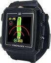【送料無料】日本初!みちびきL1S対応で誤差1mのGPSゴルフナビ GreenOn『THE GOLF WATCH PREMIUM II』(グリーンオン『ザ・ゴルフウォッチ プレミアム2』)[腕時計型][GPSキャディー][GPS][ナビ][スマホ連動][アプローチ][距離計][楽天]
