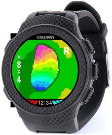 オールインワン画面搭載、GPSゴルフナビの最高峰 GreenOn『THE GOLF WATCH A1-II』(グリーンオン『ザ・ゴルフウォッチ A1(エーワン)-II』)[腕時計型][GPSキャディー][GPS][ナビ][スマホ連動][アプローチ][アンジュレーション][高低差][距離計]