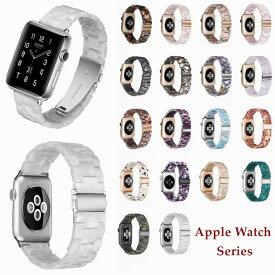 apple watch SE バンド Series 6 Series 5 series 4 series 3 series 2 series6 交換バンド applewatch ベルト おしゃれ 樹脂製 軽量 高品質 アップルウォッチ アクセサリー おしゃれ 花柄 44mm 40mm 42mm 38mm 対応 耐久 交換バンド 腕時計バンド 腕時計ベルト