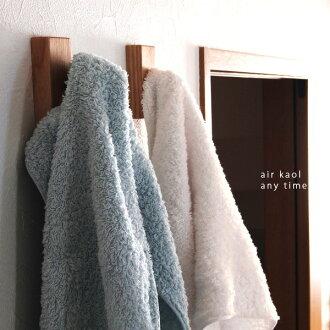 浅野薰能士空气贴花 (浴毛巾浅野加捻运动毛巾 / 毛巾 / 浴巾 / 胧毛巾 & / 日本 / 吸水性)