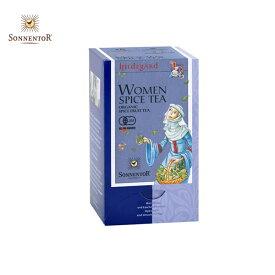 ゾネントア 女性のためのお茶(SONNENTOR/ハーブティー 紅茶 ハーブティー ティーバッグ オーガニック ノンカフェイン プチギフト/9004145022096)
