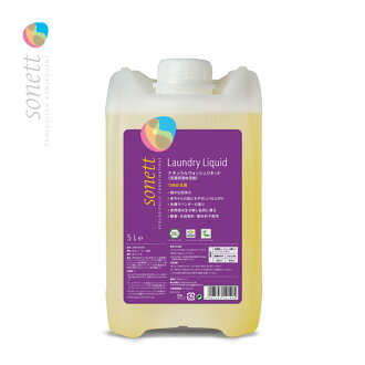 소네트 내츄럴 워쉬 리키드 5 L (u4/ SONETT 세탁용 세제 세탁 세제 의류용 세제 에코 세제 업무용/4007547541405)
