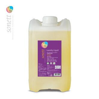 소네트 내츄럴 워쉬 리키드 10 L (u3/ SONETT 세탁용 세제 세탁 세제 의류용 세제 에코 세제 업무용/4007547541108)