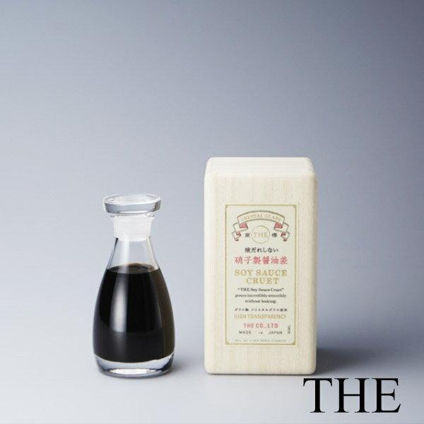 THE 醤油差し CLEAR 80ml(e3/クリスタスガラス 醤油さし 日本製 しょうゆ /4547639475473)