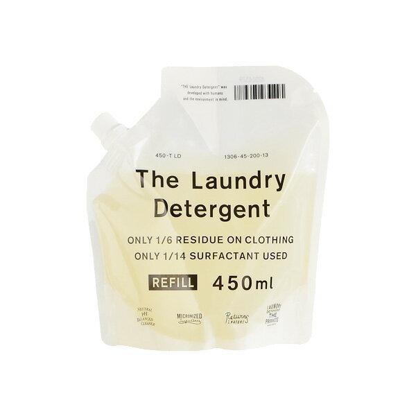 THE 洗濯洗剤 詰替用 450ml(洗濯洗剤/衣類用洗剤/エコ洗剤/部屋干し/節水/節電/時短/すすぎ1回/がんこ本舗/4547639511188)