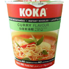菜食 カップ麺(カレー味) KOKA 70g No MSG 中一素食店 nc jn