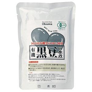 有機黒豆の水煮 230g(固形量140g) ow jn