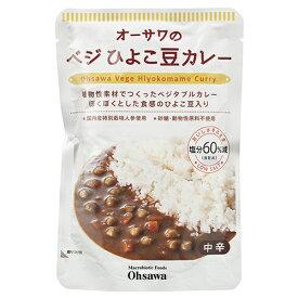 オーサワのひよこ豆カレー 210g ow jn