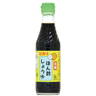 Hikari organic vinegar soy sauce 250 ml ow jn