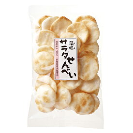 松崎米菓 藻塩サラダせんべい 88g ow jn
