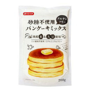 砂糖不使用 グルテンフリーパンケーキミックス 200g ow jn