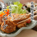 【クール便送料別途】原材料に徹底的にこだわった有機野菜使用れんこんミニハンバーグ 4個 rt ベジタリアン、ダイエット