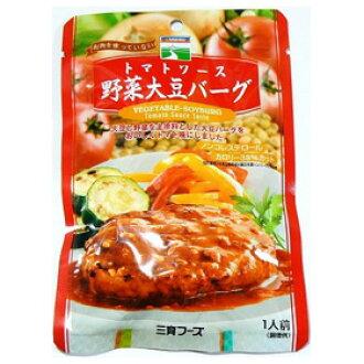 三育 토마토 소스 야채 콩 버그 100g si jn
