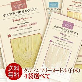 グルテンフリーヌードル 選べる4食 【送料無料】jn pns