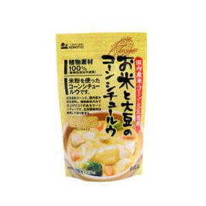 創健社 お米と大豆のコーンシチュールウ 135g su jn