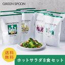 \30%OFFクーポン配布中&レビュー記入で1,000円OFFクーポン配布中/【GREEN SPOON グリーンスプーン ホットサラダ8食…