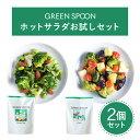 \30%OFFクーポン配布中&レビュー記入で1,000円OFFクーポン配布中/【GREEN SPOON グリーンスプーン ホットサラダ2食…