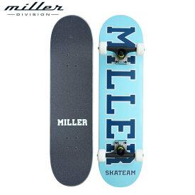 【送料無料】ミラーディヴィジョン チーム スケートボード コンプリートデッキ スケートボード スケボー メンズ レディース Miller Division TEAM