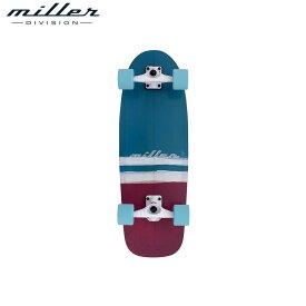 【送料無料】スケートボード スケボー コンプリート デッキ 浜辺 スケボー 組立済み ミラーディヴィジョン サーフスケート ムンダカ 30インチ Miller Division SURF SKATE Mundaka 30