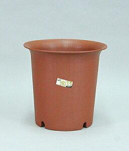 陶鉢 深型 5号 えび茶 【アップルウェアー】 φ16.7×17.2cm