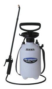 除草剤用噴霧器 フルプラ ダイヤスプレー プレッシャー式噴霧器 4L用/除草剤用 単頭式 45cmノズル付 NO.8241 静音