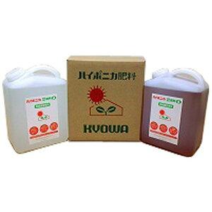 【送料無料】ハイポニカ液肥A液B液セット 各4L(4000ml)