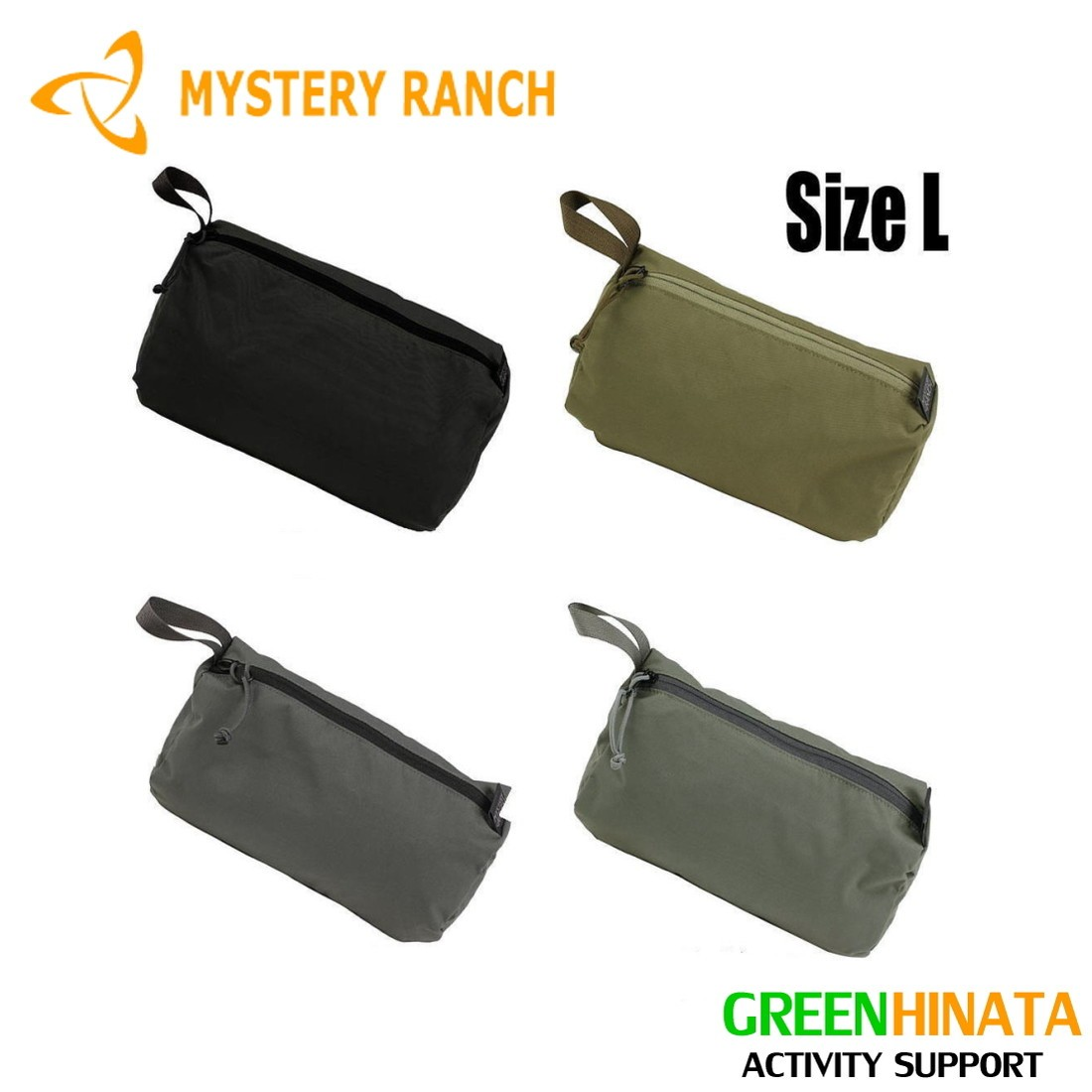 【国内正規品】 ミステリーランチ ゾイドバッグL ポーチ MYSTERY RANCH ZOID BAG L 小物入れ バッグ