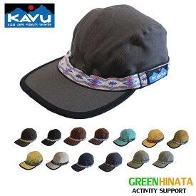 【国内正規品】 カブー ストラップキャップ 帽子 KAVU STRAPCAP コットン キャップ