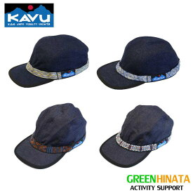 【国内正規品】 カブー ストラップキャップ デニム 帽子 KAVU Strapcap 軽量 速乾 キャップ