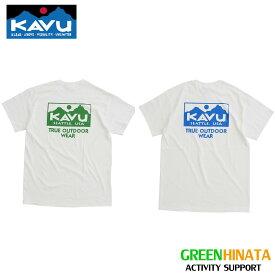 【自社在庫品】 カブー トゥルーロゴ T ティーシャツ ロゴT KAVU TRUE LOGO Tee