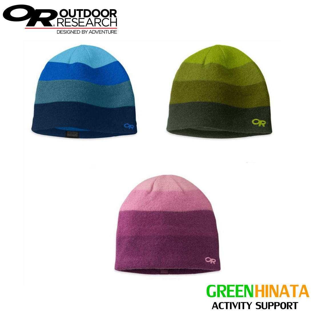 【国内正規品】 アウトドアリサーチ グランジエントハット ニットキャップ OUTDOORRESEARCH Gradient HatEvergreen/Hops ビーニー 帽子
