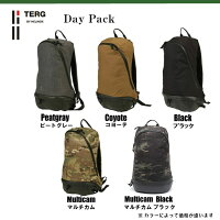【国内正規品】ターグデイパックマルチカムブラックリュックサックTERGDAYPACKバックパックバッグ